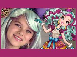 Ever After High Dolls Where To Buy Ever After High Madeline Hatter Makeup Tutorial Kittiesmama