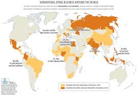 Thailand On World Map by Subnational Doing Business World Bank Group
