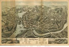 New London Ct Map Old Maps Of Hartford County Ct Retail