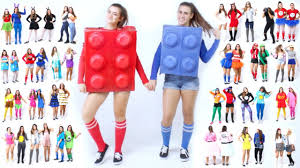 top halloween costumes 2017 30 last minute best friend halloween costume ideas youtube