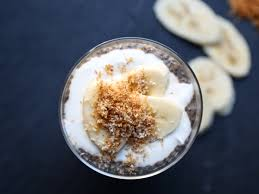 brazilian chia pudding cups with acai and coconut yogurt recipe