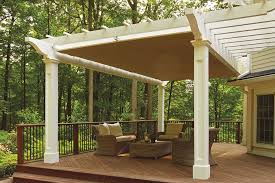 Solid Roof Pergola Kits by Retractable Pergola Canopy In Morris Plains Shadefx Canopies