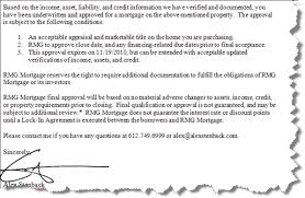 Letter Of Agreement Sle For Loan loan approval letter template sle of home pre mortgage modern