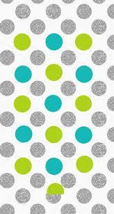 Polka Dot Wallpaper Silver Lime Jade Polka Dots Spots Iphone Wallpaper Phone