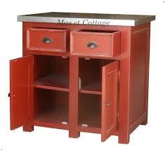 meuble cuisine bas meuble cuisine bois et zinc meuble avec plateau en zinc billot