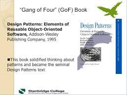 of four design patterns cs 1023 lec 9 design pattern week 2