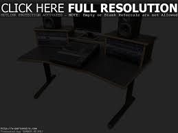 Music Studio Desks by Home Recording Studio Desk Plans Best Home Furniture Decoration