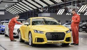 audi is a company of which country audi hungaria passes millions in production