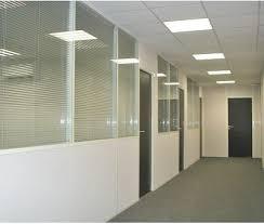 cloison aluminium bureau cloison de bureau semi vitrée universalia devis