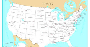usa map quizlet map usa and mexico major tourist attractions maps of with