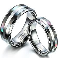 matching wedding rings jewelrywe free engraving matching comfort fit tungsten wedding