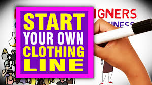 Create Your Own Clothing Labels Online How To Start Your Own Clothing Line In 2017 Youtube