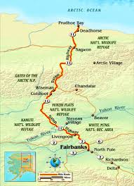 Road Map Of Alaska by Tips For Riding The Dalton Highway Rider Magazine