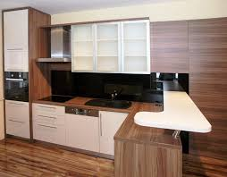 Small Kitchen Design For Apartments Small Kitchen Design Solutions With Simple Dining Area Ideas