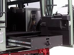 1995 land rover defender interior land rover defender 2 4 suzuki jimny drawer kit by front runner