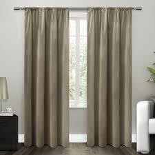 Home Classics Blackout Curtain Panel by Amazon Com Exclusive Home Curtains Cotton Velvet With Blackout