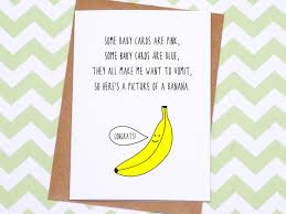 baby card new baby card different baby card banana baby card