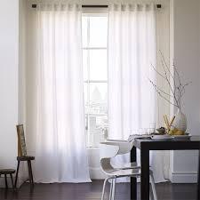 Cotton Canvas Curtains Cotton Canvas Curtain White West Elm