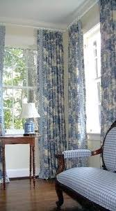 Blue Toile Curtains Blue Toile Curtains Blue Cottage Charm Gingham Settee With The
