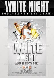 all white party top 10 best white psd flyer templates