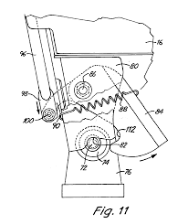 patent us6910731 skid steer loader with front pivoting cab