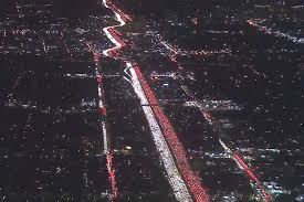 epic 405 traffic jam terrorizes los angeles drivers before