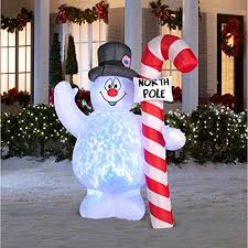 snowman decorations frosty the snowman outdoor christmas decor