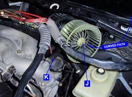 changing blower motors without removing wipers bending metal etc