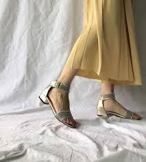 pale gold ankle sandals 70 000원 u2013 lagomshop