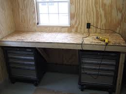 Woodworking Bench Top Surface by Low Cost Tank Tough Workbench 6 Steps With Pictures