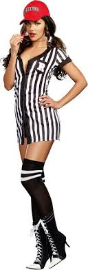 referee costume beyonce wears referee costume thigh high boots in bowl