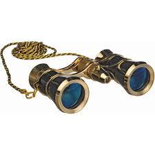 lascala optics 3x25 carmen opera glasses with red led lsc01fl