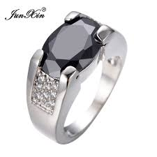 rings of men aliexpress buy junxin new big black oval ring ring