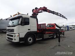 volvo trucks usa used volvo fm 340 6x2 4 hmf 3000k6 10 crane trucks year 2008
