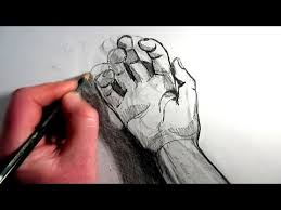 how to draw hands five quick sketches youtube