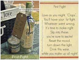bridal shower wine basket basket of firsts for the and groom diy momista beginnings