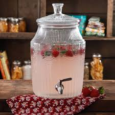 halloween drink dispenser the pioneer woman adeline 2 1 gallon glass drink dispenser