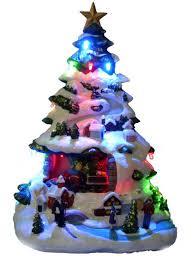 ceramic light up christmas tree christmas vintage ceramic christmas tree of pearl finish