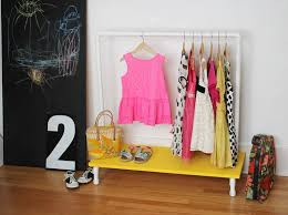 kids clothes rack diy u2013 a beautiful mess