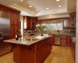 Kitchen Ideas With Cherry Cabinets by Cherry Cabinet Kitchen Designs Kitchen Cherry Cabinets New All