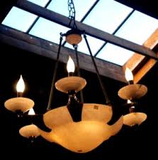 Antique Alabaster Chandelier Lighting And Chandeliers San Leandro Auctions California Floor