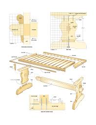 free woodworking plans for trestle tables online flip top colonial