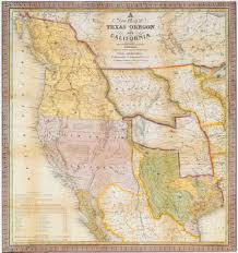 Map Of The Us And Mexico by A Continent Divided The U S Mexico War