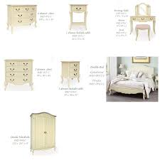 french shabby chic bedroom furniture set em italia