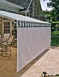 Caravan Retractable Awnings Shadetree Canopy Retractable Awnings Installed Over A Mahogany
