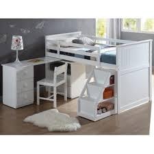 Bunk Bed And Desk Bunk Beds Loft Beds With Desks Wayfair