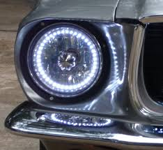hid lights for classic cars ford mustang forum ver post hid headlightd on 1968 mustang coupe