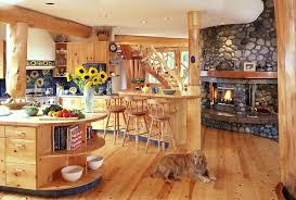 interiors for kitchen custom log home design murray arnott design