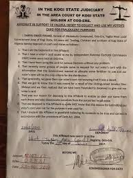 dino registry welcome to trezzy helm dino melaye s recall see the affidavit a