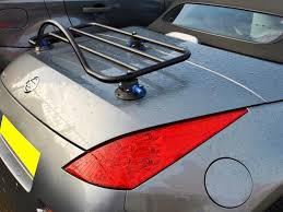 nissan 350z safety rating nissan 350z roadster luggage rack unique design no bolts no clamps
